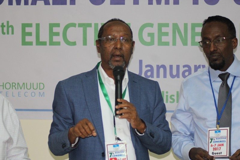 """Tarabi aims to """"make a difference"""" after election as Somali National Olympic Committee President"""