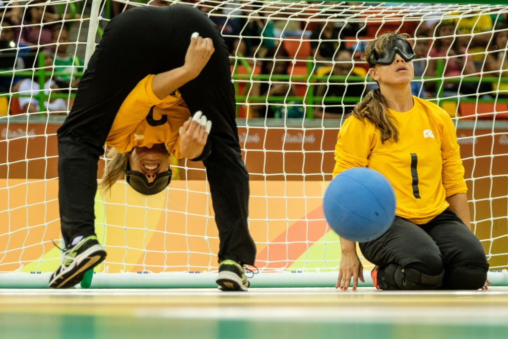 Brazil topped both the men's and women's goalball world rankings for 2016 ©Getty Images