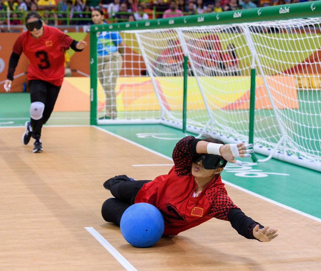 Paralympic silver medallists China are second in the women's rankings ©Getty Images