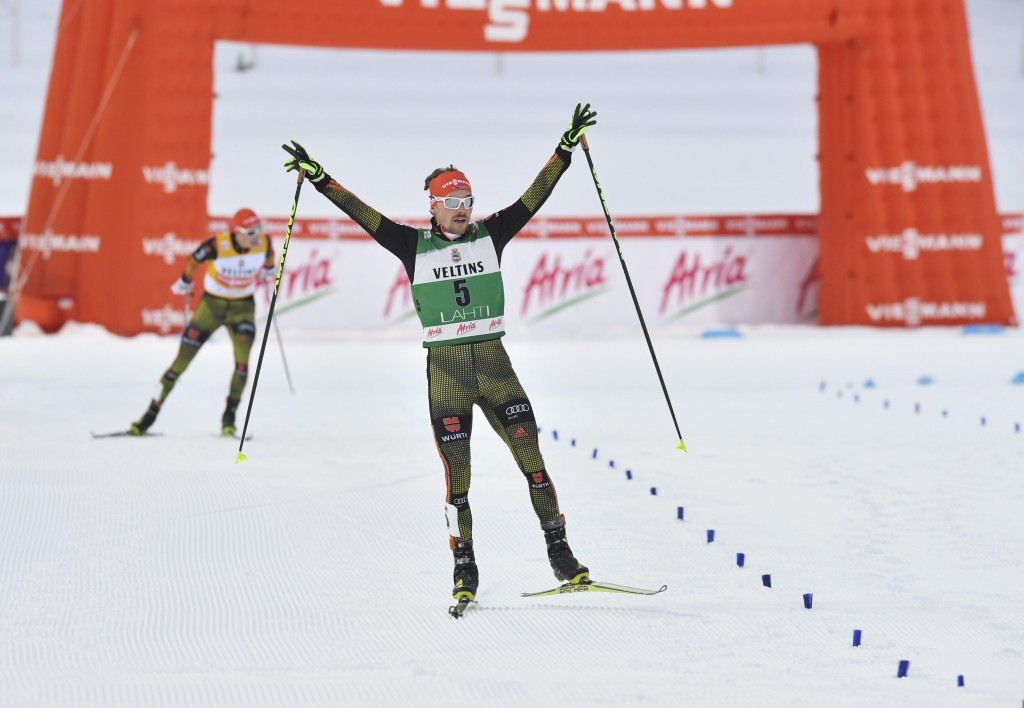 Rießle tops the pile as German dominance continues at FIS Nordic Combined World Cup