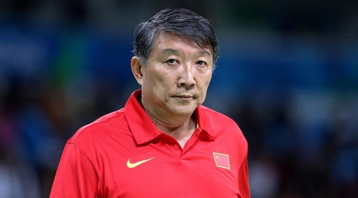 Gong steps down as head coach of China's men's basketball team