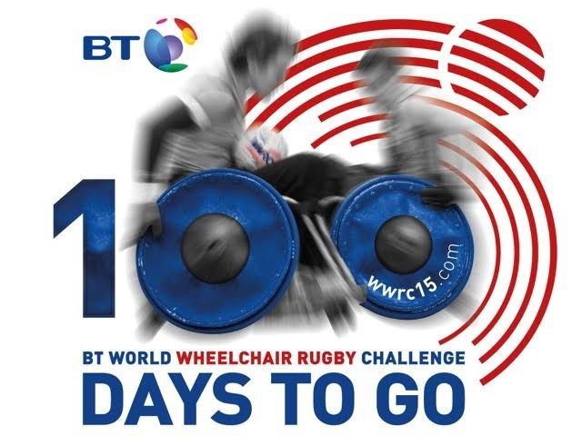 ITV to broadcast BT World Wheelchair Rugby Challenge