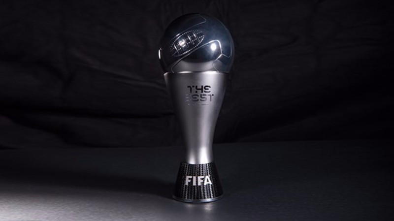 The new trophy set to be awarded at the Best FIFA Football Awards ©FIFA