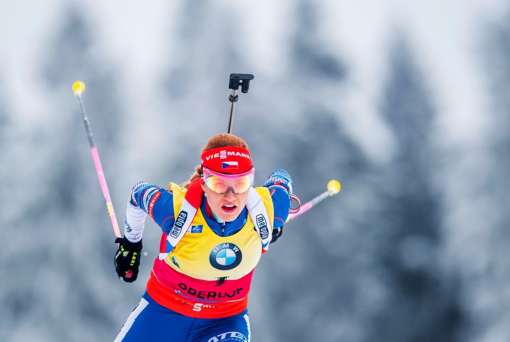 Koukalová earns second victory in three days at IBU World Cup in Oberhof