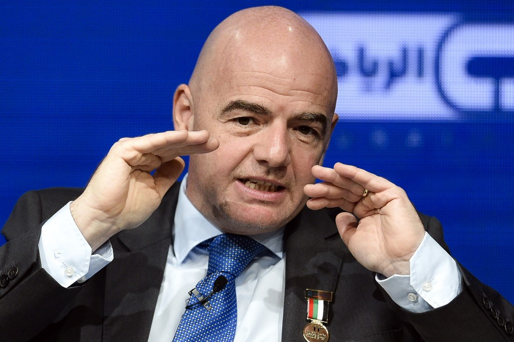 The next three days is due to be a major test for new FIFA President Gianni Infantino following his election last year ©Getty Images