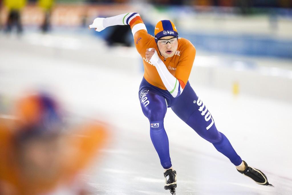 Sven Kramer won his ninth European Speed Skating Championships all-round title ©Getty Images