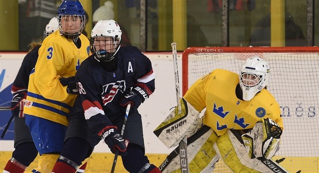 Defending champions United States continue perfect start to IIHF World Women's Under-18 Championship