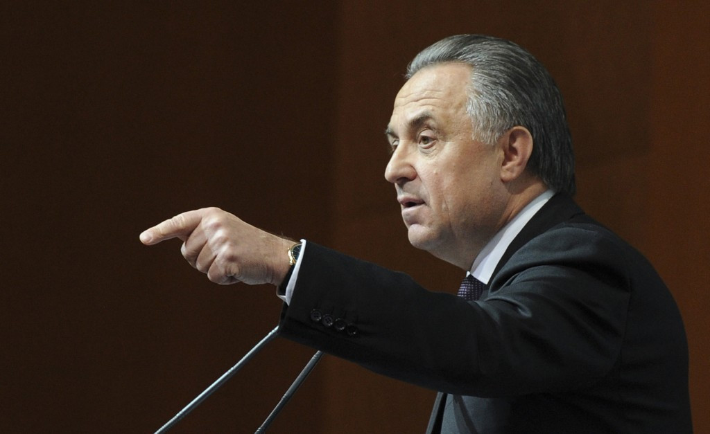 Vitaly Mutko has claimed it was unsportsmanlike of David Kenworthy to suggest Russia should be banned from Pyeongchang 2018 ©Getty Images