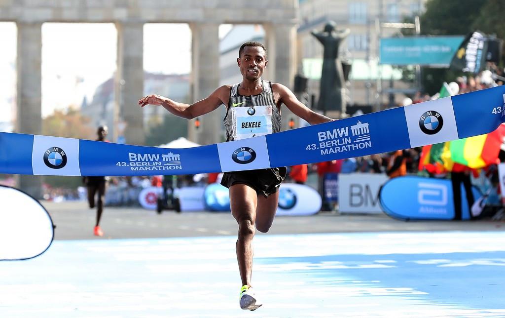 Triple Olympic champion Bekele leads men's elite race entries at 2017 London Marathon