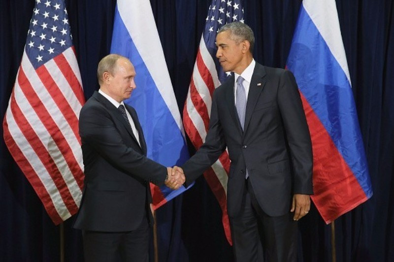 Both Vladimir Putin, left, and Barack Obama have certainly used sport for political purposes ©Getty Images