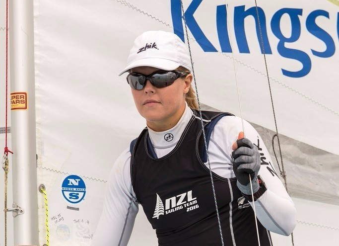 Double medallist Powrie calls time on Olympic sailing career