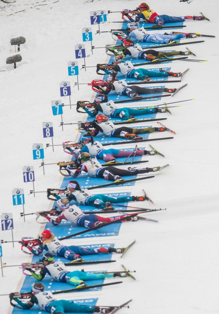 More than 170 biathletes have reportedly signed the letter sent to the IBU ©Getty Images