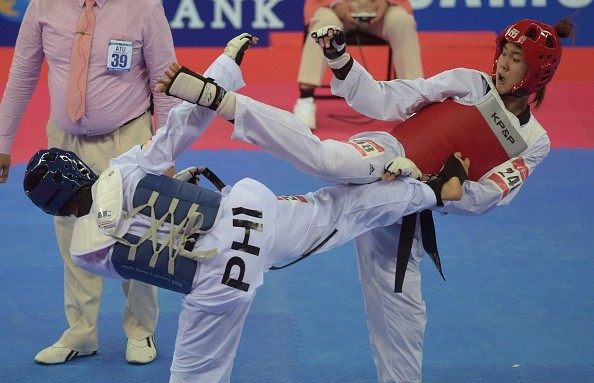 According to the PTA there are more than one million people practicing taekwondo in the country ©Getty Images