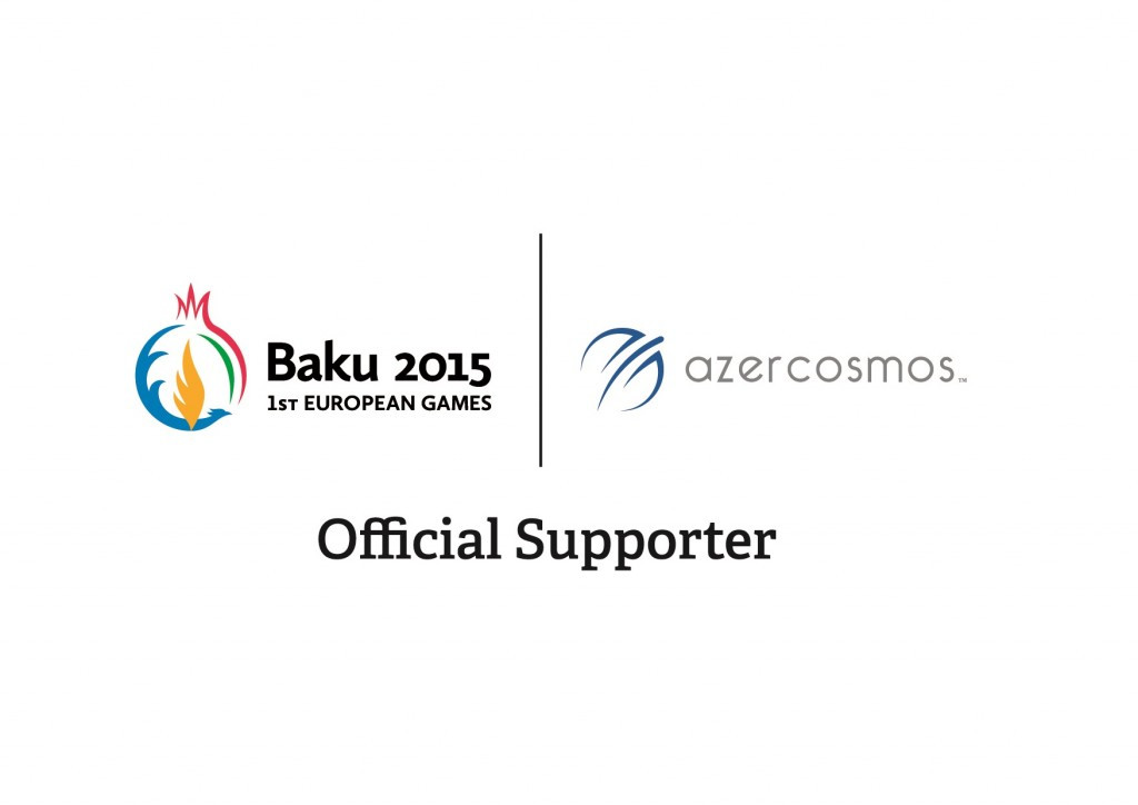 Azercosmos announced as Baku 2015 Official Supporter and Satellite Services Provider