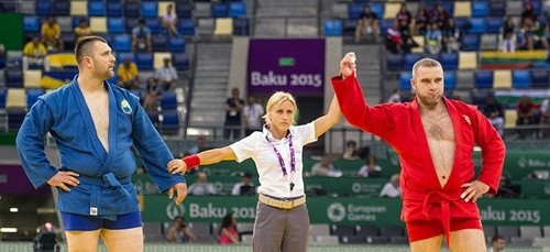 Tatjana Trivic has served as a sambo referee at numerous events, including the Baku 2015 European Games ©European Sambo Federation
