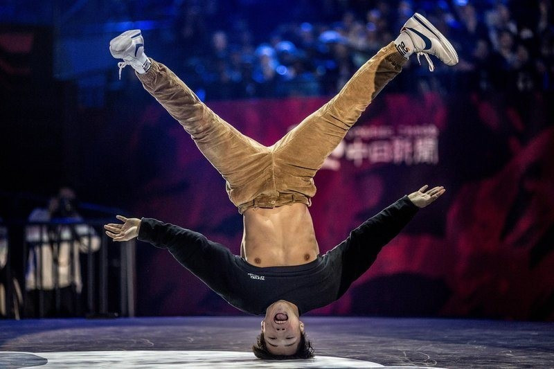 Breakdancing was added to the Buenos Aires Youth Olympic Games programme last year ©WDSF