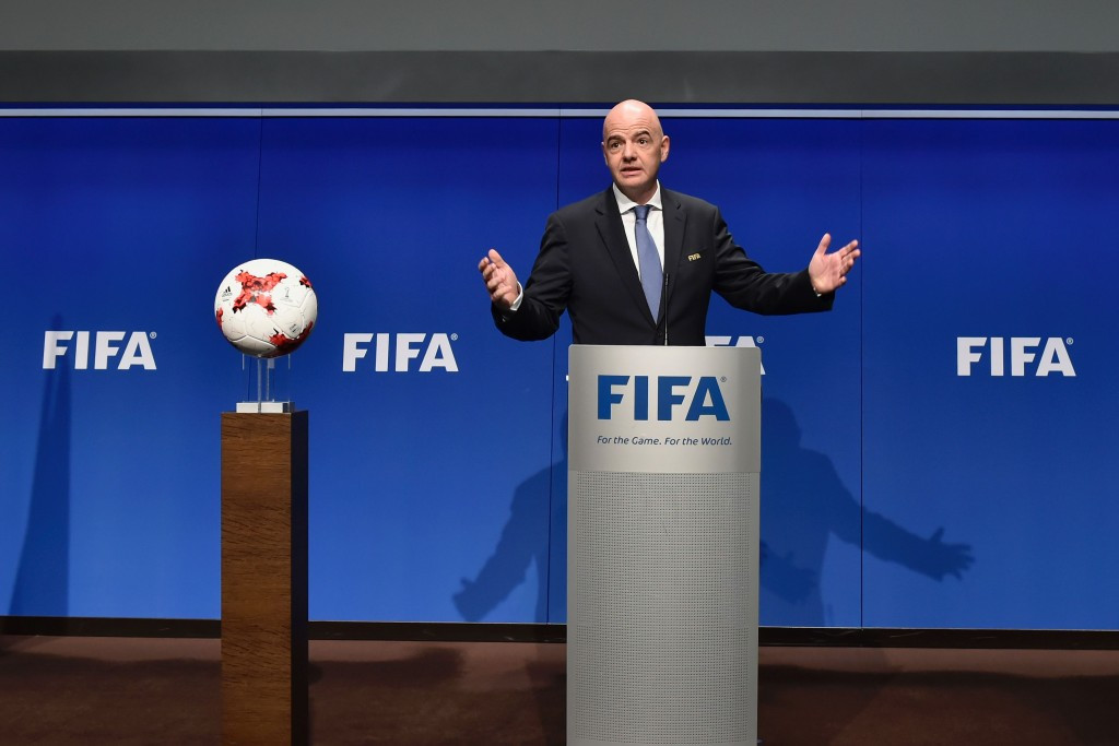 Gianni Infantino has hailed the benefits of World Cup expansion following today's meeting ©Getty Images
