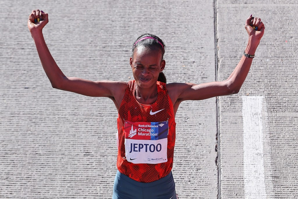 Rita Jeptoo is one of many Kenyans with a doping past ©Getty Images