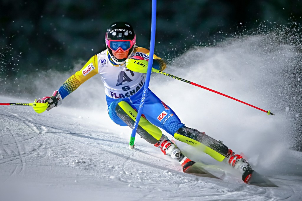 Sweden's Hansdotter claims first win of FIS Alpine Skiing World Cup season with slalom success in Flachau