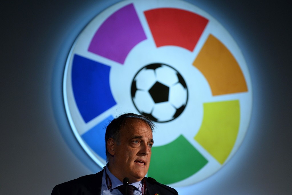 La Liga President Javier Tebas has criticised the World Cup expansion plans ©Getty Images