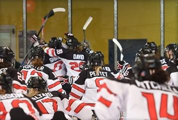 Canada beat defending champions to top IIHF World Women's Under-18 Championship group