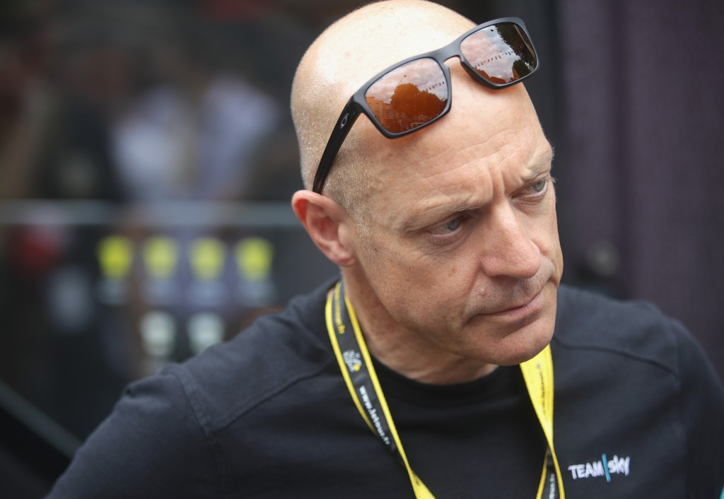 """Sir David Brailsford has claimed it was """"extraordinary"""" for UKAD chairman David Kenworthy to comment on an ongoing investigation ©Getty Images"""