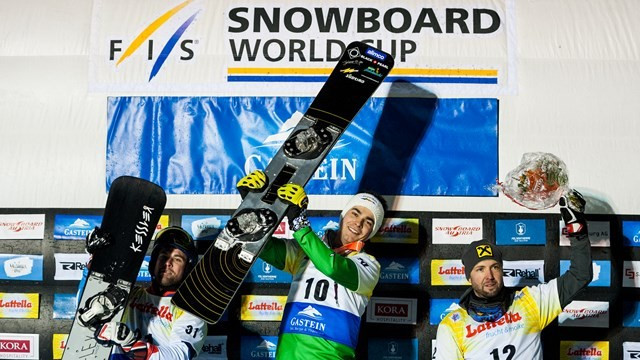Mick and Ulbing secure FIS Parallel Snowboard World Cup victories in Bad Gastein