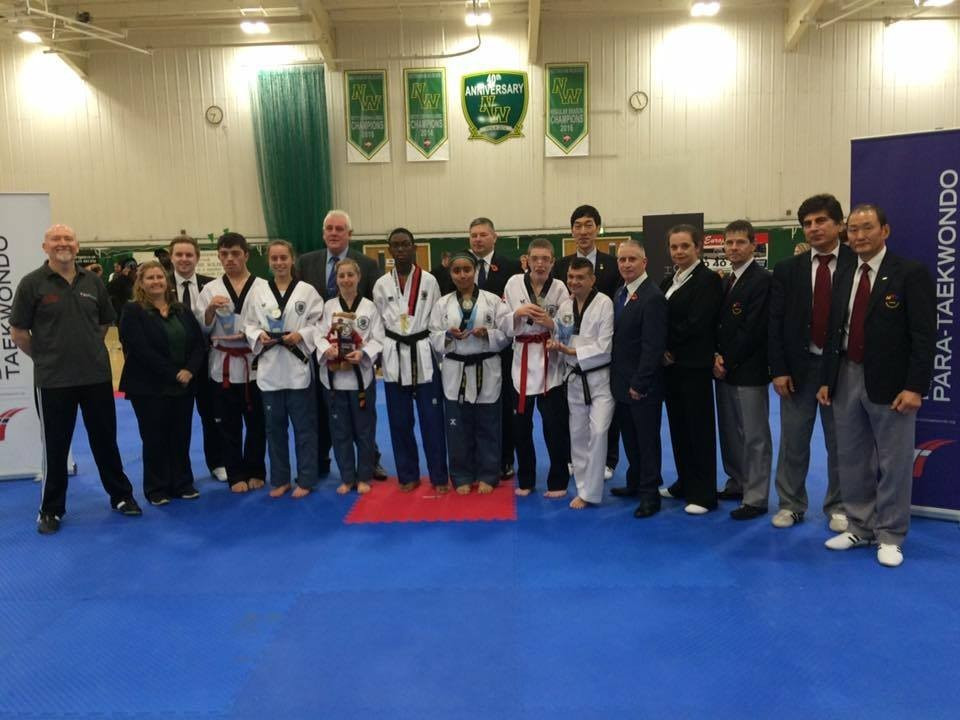 Seven athletes participate at British National Para Taekwondo Poomsae Championships