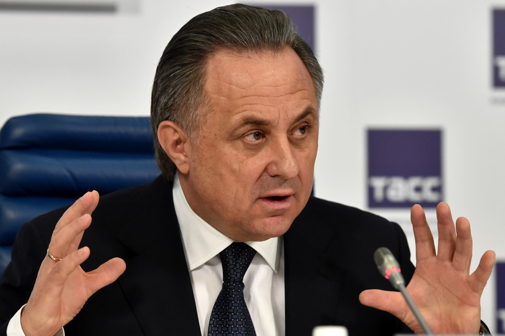 Russia's Deputy Prime Minister Vitaly Mutko has slammed a joint statement from 19 National Anti-Doping Organisations released yesterday ©Getty Images