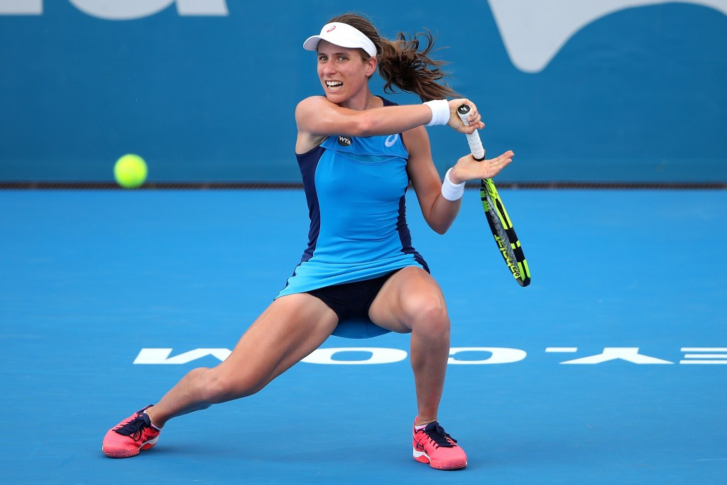 Konta in British Fed Cup squad for Group I events