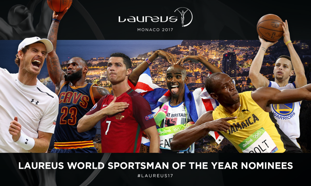 There are six nominees for the Laureus World Sportsman of the Year Award ©Laureus World Sports Awards