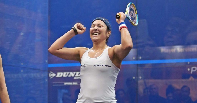 Amanda Sobhy is seeking to raise the profile in squash in United States ©Tournament of Champions
