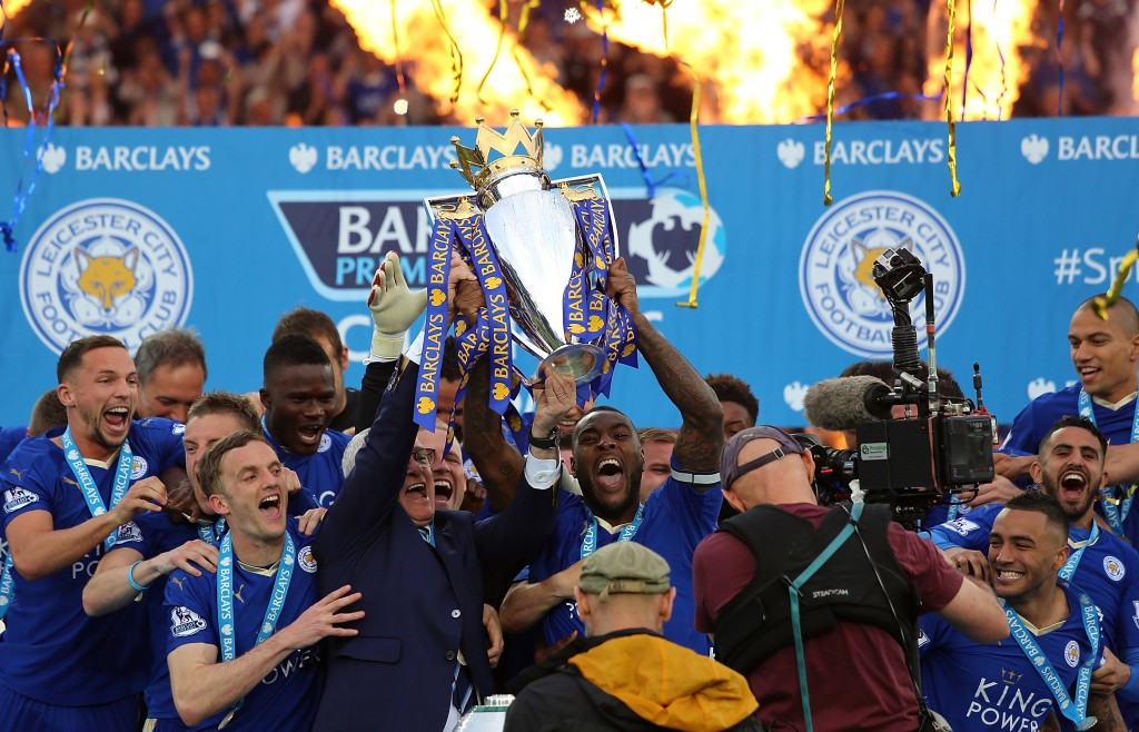 Premier League champions Leicester City have been nominated for the Breakthrough of the Year in the Laureus Awards, a category that also includes South Africa's Olympic 400m champion Wayde van Niekerk ©Getty Images