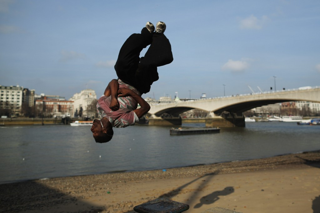 Parkour recognised as a sport in the United Kingdom