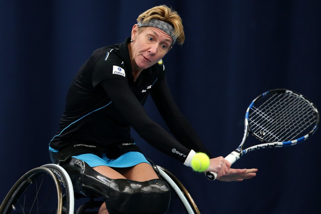 Germany's Ellerbrock comes through tough test on opening day of Sydney Wheelchair Tennis Open