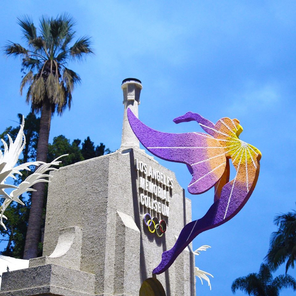 Los Angeles claim they are focussed on hosting the 2024 Olympics and Paralympics ©LA 2024