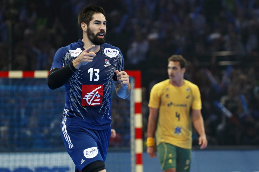 Defending champions France begin World Handball Championships with victory over Brazil