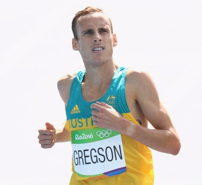 Ryan Gregson has been named in the Australian team set to compete at next month's first Nitro Athletics event ©Getty Images