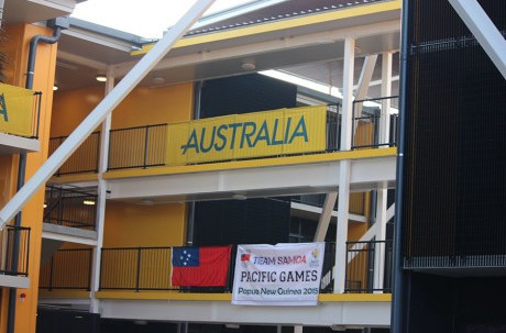 Australia are competing at the Pacific Games for the first time along with New Zealand