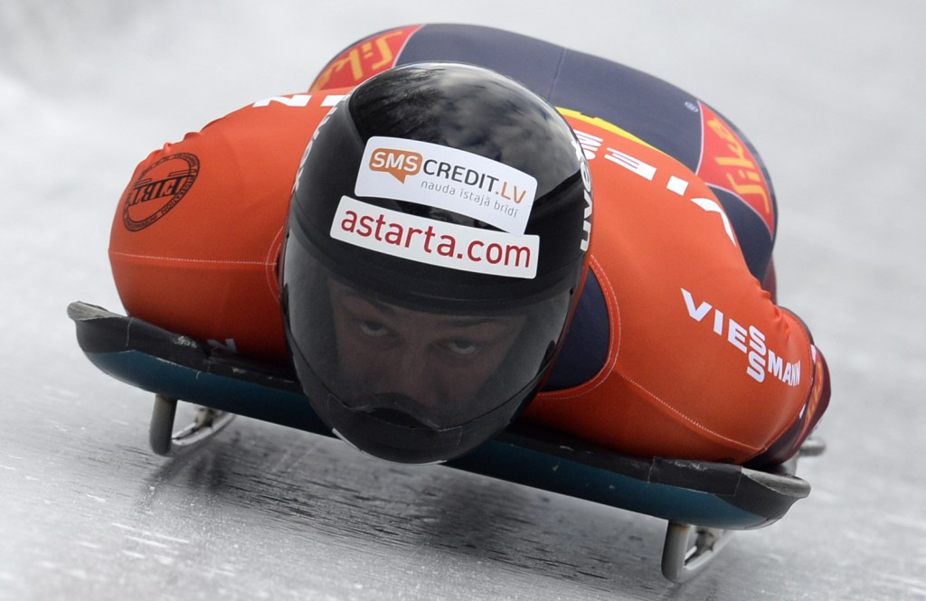 Martins Dukurs is the current men's skeleton European champion alongside his brother Tomass ©Getty Images