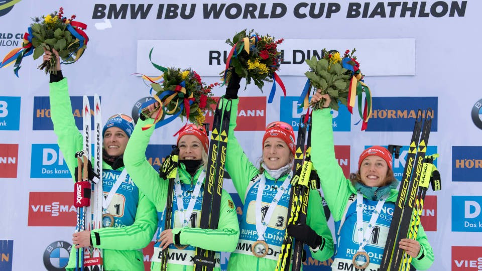 Germany claim home IBU World Cup relay victory at Ruhpolding