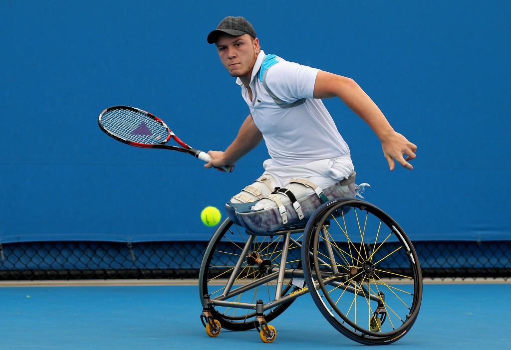 Peifer's Sydney Wheelchair Tennis Open title defence still on course