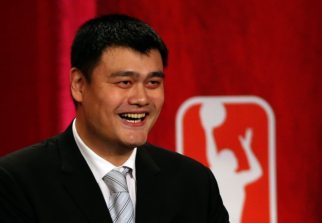 Chinese basketball great Yao Ming has been temporarily placed in charge of a transition team by the Chinese Basketball Association ©Getty Images