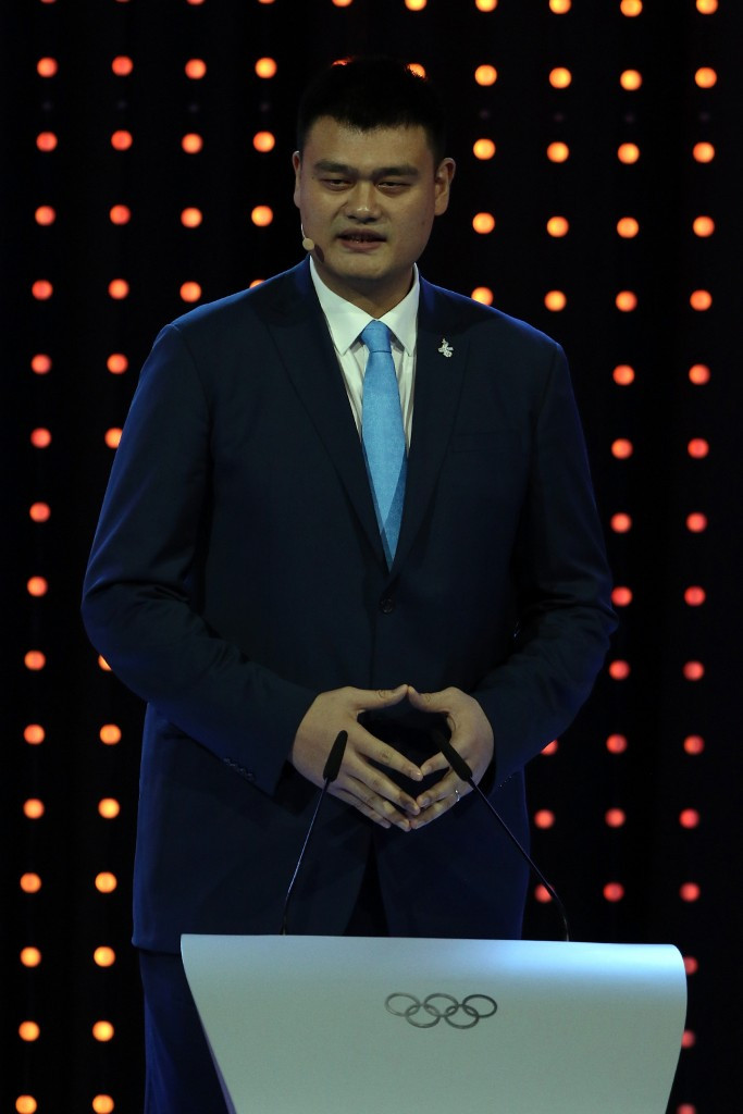 Yao Ming competed at three Olympic Games for his country ©Getty Images