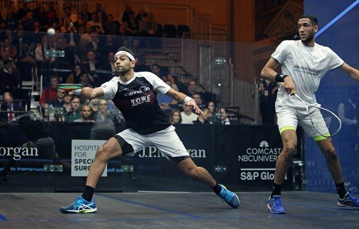 Birthday boy Elshorbagy battles to opening day win at Tournament of Champions