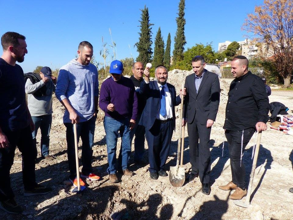 Construction on a new baseball facility in Israel has begun ©WBSC