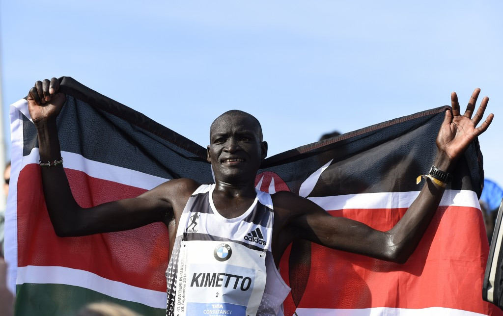 Kenyans Kimetto and Kiplagat head respective fields for 2017 Boston Marathon