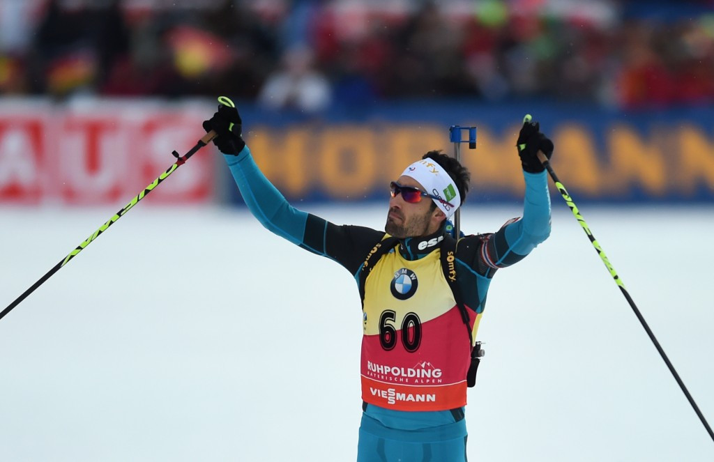 Fourcade maintains IBU World Cup dominance with 10km sprint win in Ruhpolding