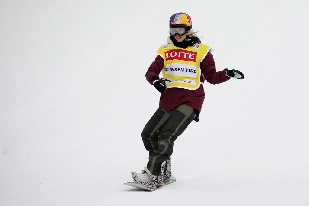 Gasser leads women's qualifying at FIS Snowboard World Cup in Kreischberg
