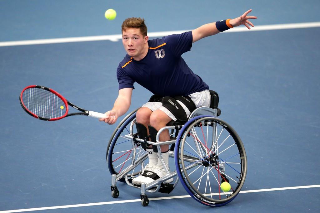 Hewett wins all-British clash against Reid to reach Sydney Wheelchair Tennis Open final